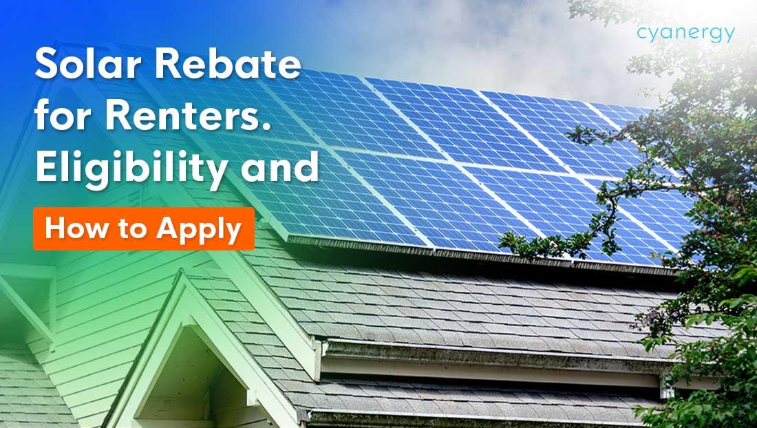 Solar rebate for renters